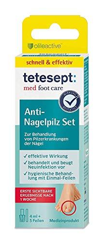 tetesept med foot care Anti-Nagelpilz Set – Zur...