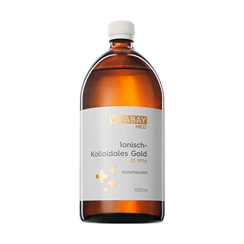 Vitabay Kolloidales Gold 10 PPM • 1000 ml •...