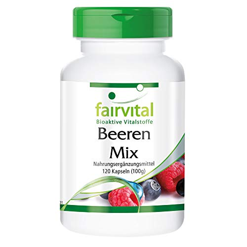 Beeren Mix - Antioxidantien Kapseln - HOCHDOSIERT...