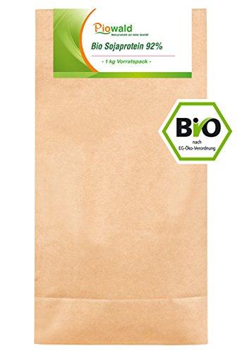 BIO Sojaprotein 92% - 1 kg Vorratspack, Soy...