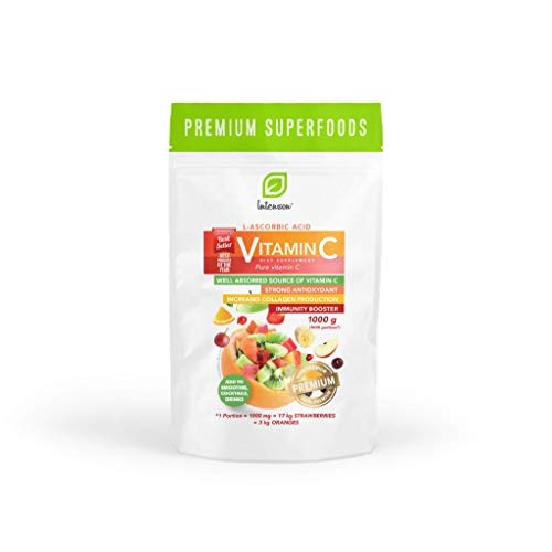 Intenson Vitamin C 1000g | Vitamin C Pulver 1kg |...