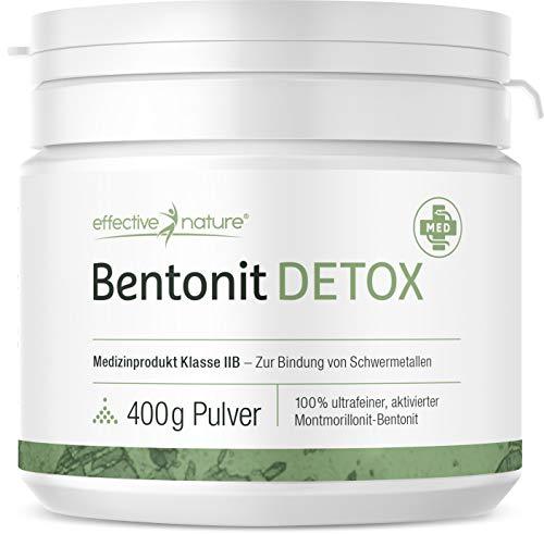 effective nature - Bentonit Detox - 400 g -...