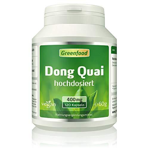 Greenfood Dong Quai, 400 mg, hochdosierter Extrakt...