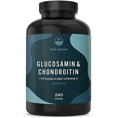 TRUE NATURE® Glucosamin & Chondroitin Hochdosiert...