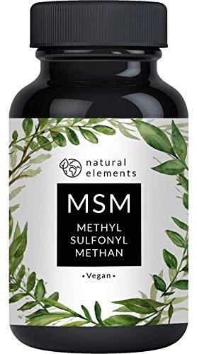 MSM Kapseln - 365 vegane Kapseln - Laborgeprüft -...