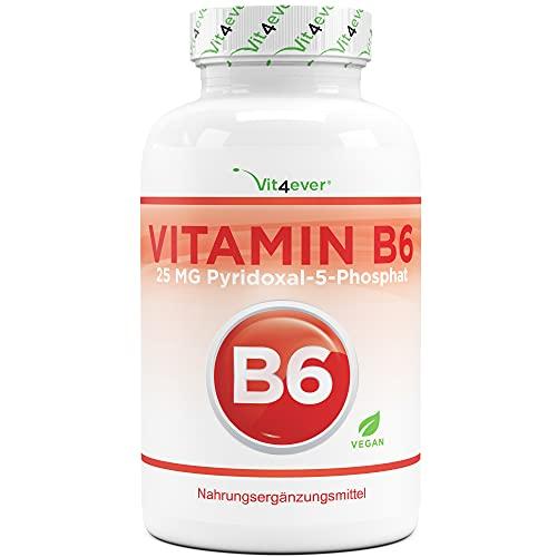 Vitamin B6 als P-5-P - 240 Tabletten extra...