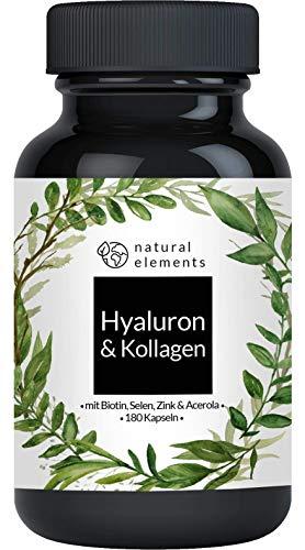 Hyaluronsäure Kollagen Komplex - 180 Kapseln -...