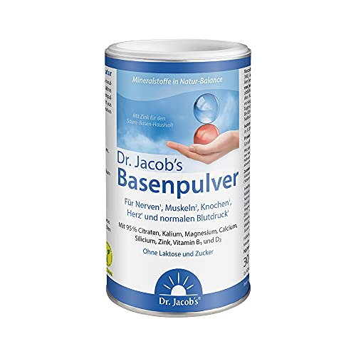 Dr. Jacob's Basenpulver auf Citratbasis I mit...