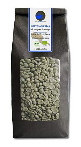 Bio Rohkaffee - Grüner Hochland Kaffee Nicaragua...
