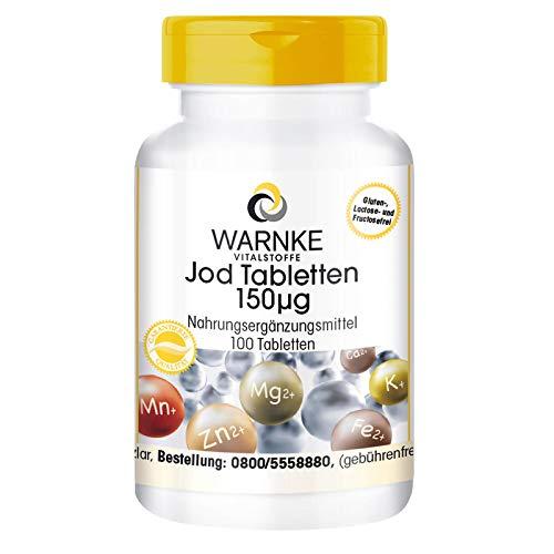Jod Tabletten - 150µg Jod pro Tablette -...