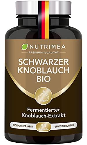 Schwarzer Knoblauch BIO | Knoblauchextrakt...