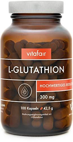 VITAFAIR L-Glutathion - Reduziert, hochdosiert -...