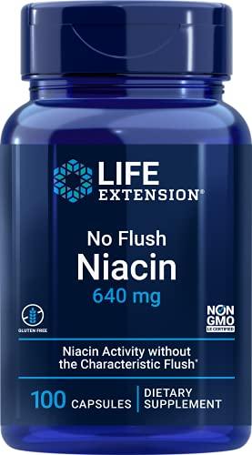 Life Extension, No-Flush Niacin ( Inositol...
