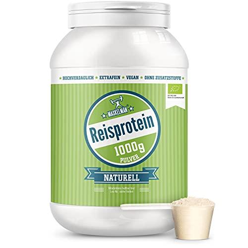 Maskelmän Reisprotein 80% - extrafein - Bio -...