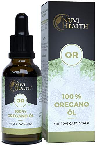 Oregano Öl - 20 ml = 820 Tropfen - 100% Premium...