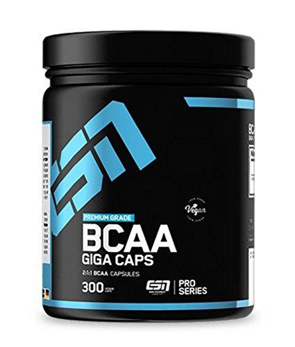ESN BCAA Giga Caps – 300 Kapseln – hochwertige...