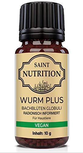 Saint Nutrition® Veganes Wurm Globuli für Tiere...