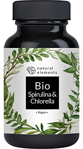 Bio Spirulina & Chlorella Presslinge - 500...