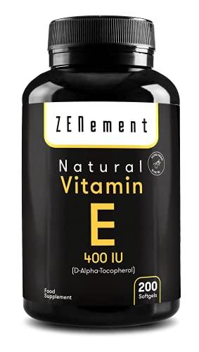 Natürliches Vitamin E - 400 IE...