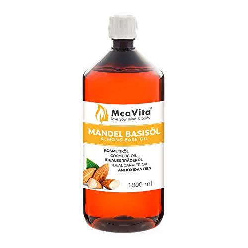 MeaVita Mandelöl Basisöl, 1er Pack (1 x 1000 ml)...
