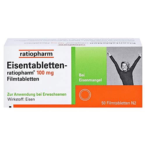 EISENTABLETTEN-ratiopharm 100 mg Filmtabletten 50...