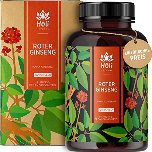Holi Natural® Roter Panax Ginseng Extrakt (10:1)...