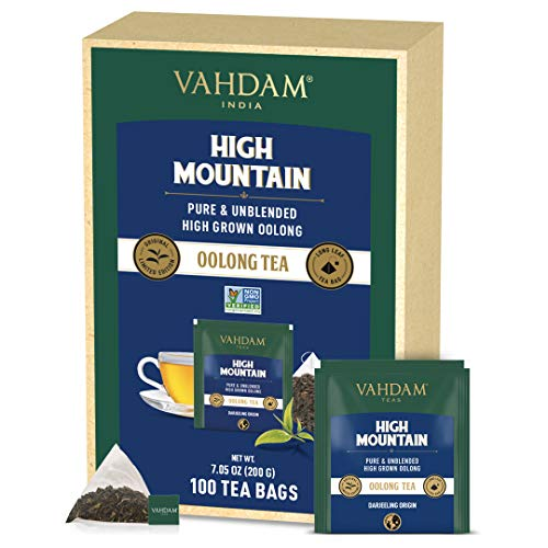 VAHDAM, Himalaya Oolong Teebeutel (100 Loser Tee...