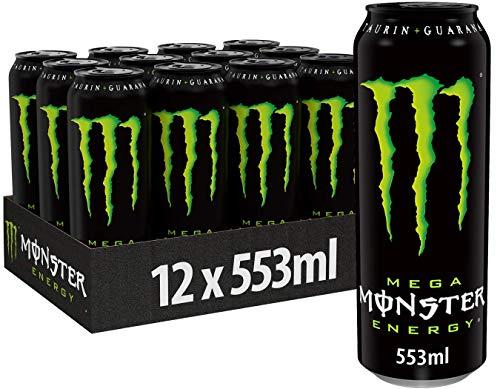 Monster Energy, 12x553 ml, Einweg-Dose, mit...