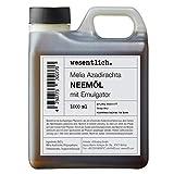 Neemöl mit Emulgator 1000ml - fertig gemischt für sofortige Anwendung von wesentlich.