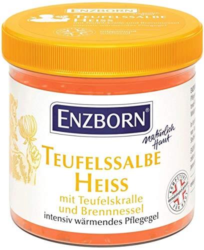 Enzborn Teufelssalbe Pflegegel Heiß 200 ml, 1er...