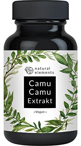 Camu-Camu Kapseln - Natürliches Vitamin C - 180...