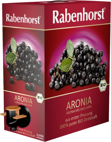 Rabenhorst Aronia Bio-Muttersaft 3 Liter BiB, 1er...