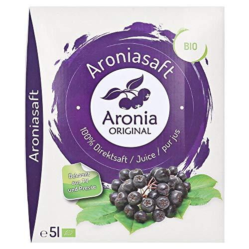 Aronia Original Bio Aroniasaft 100% Direktsaft,...