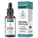 Retinol Serum - Retinol Liposomen Liefersystem mit Vitamin C & Vegan Hyaluronsäure für Gesicht, Dekolleté und Körper, Anti Falten Straffendes Serum