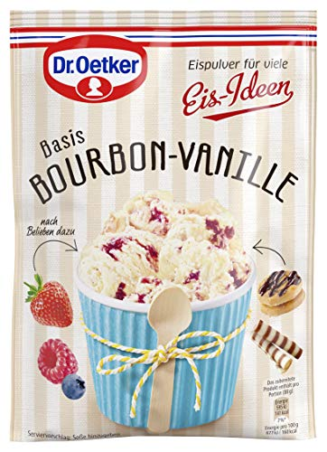 Dr. Oetker Eispulver Bourbon-Vanille, 18er Pack...