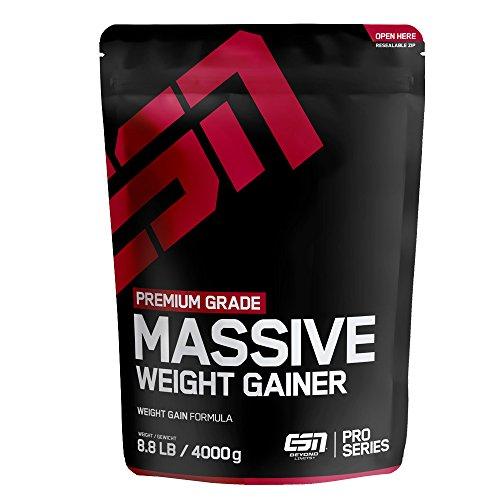 ESN Massive Weight Gainer, 4000g, Vanilla Ice...