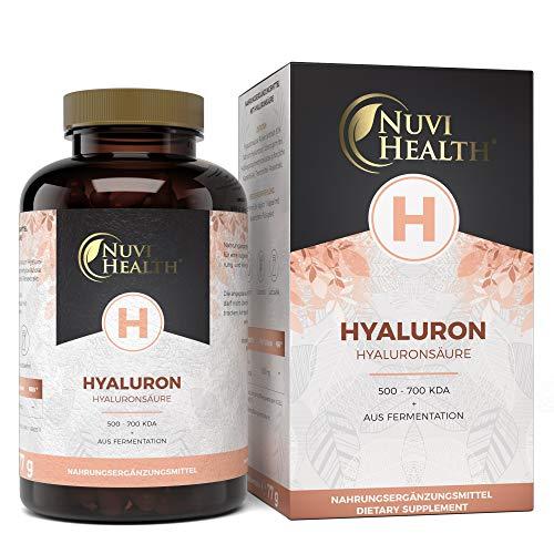 Hyaluronsäure Kapseln - Hochdosiert mit 500 mg -...