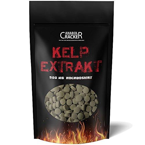 500 Tabletten - Kelp Extrakt, 500mg Kelp mit...