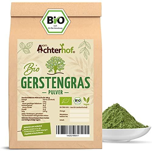 Gerstengras Pulver BIO (500g)   Aus deutschem...