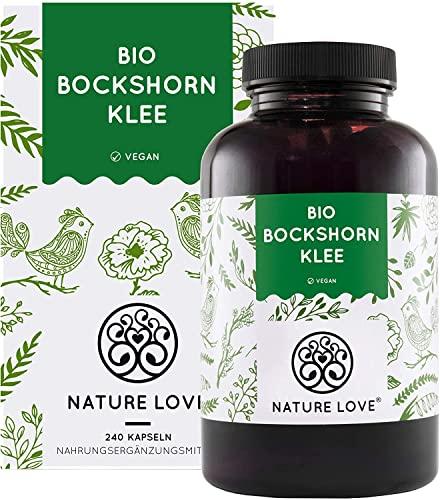 NATURE LOVE® Bio Bockshornklee - 240 vegane...
