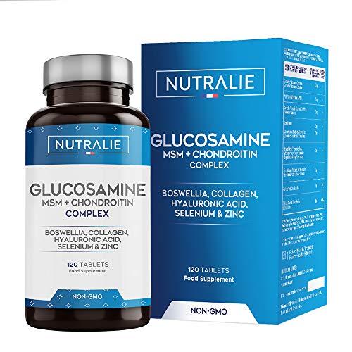 Glucosamin mit Chondroitin Hochdosiert mit MSM und...