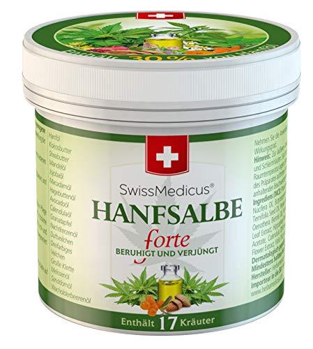 SwissMedicus - Hanfsalbe forte - 30% Hanf-Aktivgel...