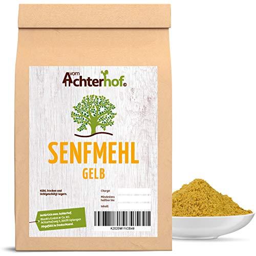 1 kg Senfmehl Senfsaat gelb gemahlen , teilentölt...