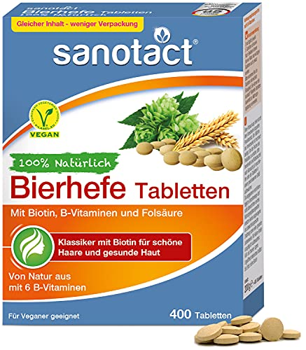sanotact Bierhefe Tabletten • 400 Tabletten •...