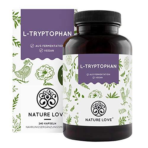 NATURE LOVE® L-Tryptophan – 240 Kapseln,...