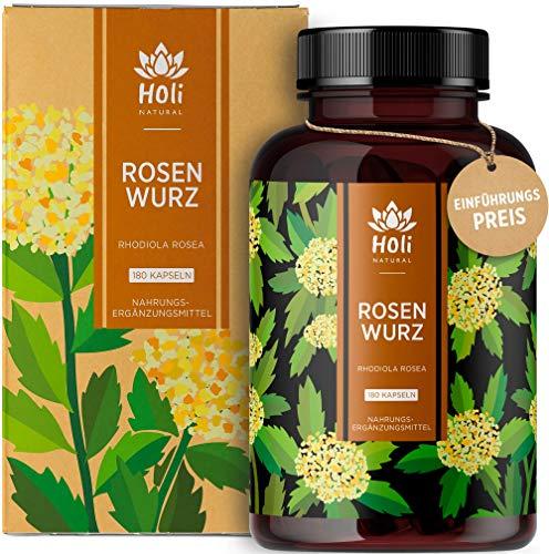 Holi Natural® Rhodiola Rosea Extrakt | 180 vegane...