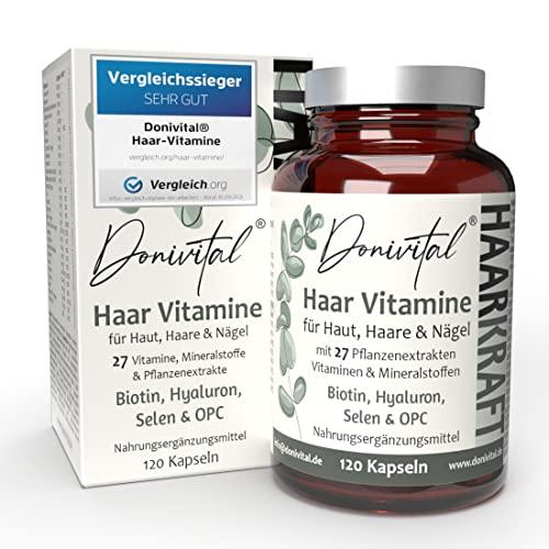 Donivital® Haar-Vitamine - VERGLEICHSSIEGER 2021...