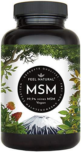 MSM Tabletten - 2000mg MSM (Methylsulfonylmethan)...