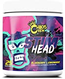 Chaos Crew Stim Head Hardcore PreWorkout Booster Trainingsbooster Bodybuilding 207g (BlueBerry Lemonade)