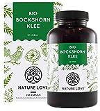 NATURE LOVE® Bio Bockshornklee - 240 vegane Kapseln - Hochdosiert mit 2600mg (650mg je Kapsel) - Laborgeprüft und frei von unerwünschten Zusätzen - zertifiziert Bio - hergestellt in Deutschland